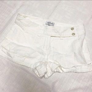 Bebe 100% Linen Shorts